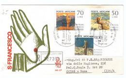 POSTE VATICANE - FDC VENETIA - 1977 - 750° ANNIVERSARIO DELLA MORTE DI S. FRANCESCO - RACC N° 227399 - - FDC