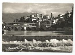 T3929 Bassano Del Grappa (Vicenza) - Ponte Vecchio - Panorama / Viaggiata 1953 - Altre Città