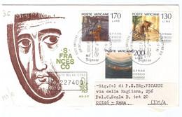 POSTE VATICANE - FDC VENETIA - 1977 - 750° ANNIVERSARIO DELLA MORTE DI S. FRANCESCO - RACC N° 227400 - - FDC