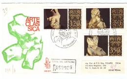 1POSTE VATICANE - FDC VENETIA - 1977 - MUSEI VATICANI - RACC N° 189988 - - FDC