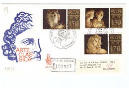 1POSTE VATICANE - FDC VENETIA - 1977 - MUSEI VATICANI - RACC N° 189987 - - FDC