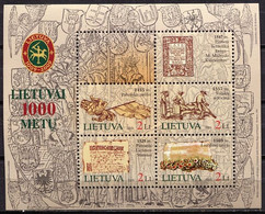 Lithuania 2005 Lituania / Millennium Of Lithuania MNH Milenario De Lituania / Fw47  36-26 - Lituania