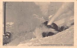 Bernina Bahn Schneeschleuderlockomotive - GR Grisons