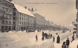 La Chaux De Fonds   Winter Tram - NE Neuchâtel