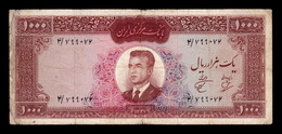 Irán 1000 Rials 1341 (1962) Pick 75 BC F - Iran