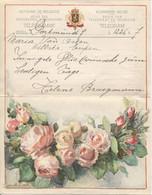 REF1921/ Télégramme De Philanthropie-Wohltaetigkeitstelegramm Déposé Dortmund > Eupen C.T.T. Bleu 7/5/1936 + Enveloppe - Documents Of Postal Services