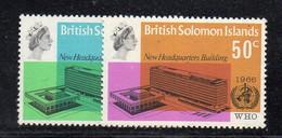 W2377 - SOLOMON, 1966 : WHO New Headquarters Building  *** - Salomoninseln (Salomonen 1978-...)