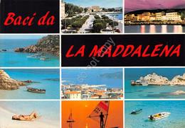 Cartolina Sardegna La Maddalena Vedute Varie - Sassari