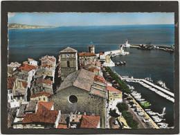 CPSM  La Ciotat L'église  Et Le   Port - La Ciotat