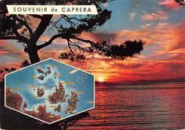 Cartolina Sardegna Caprera Tramonto E Isole - Sassari