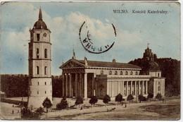 VILNIUS - Wilno - Kosciol Katedralny - Lituania
