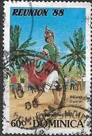 DOMINICA 1988 Reunion '88 Tourism Programme -  60c - Belaire Dancer And Tourists AVU - Dominica (1978-...)