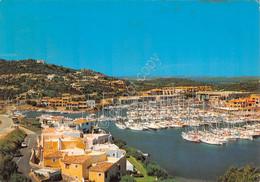 Cartolina Sardegna Porto Cervo Panorama Porto Barche - Sassari