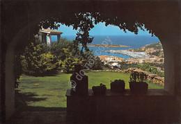 Cartolina Sardegna Porto Cervo Scorcio Panoramico Del Mare Dal Paese - Sassari