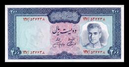 Iran 200 Rials 1973 Pick 92c SC UNC - Iran