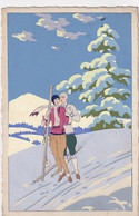 Ars Nova - Cartolina Dipinta A Mano - 1928        (A-262-200610) - 1900-1949
