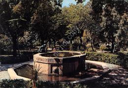 Cartolina Sardegna Sassari Giardini Pubblici Fontana San Francesco - Sassari