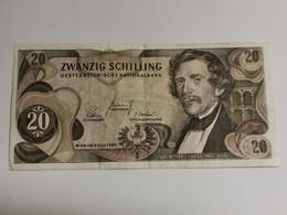 20 Schilling 1967 - Oostenrijk