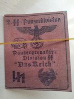 WW2 German Interest - Panzer Division Indentity Card  - Scroll Down To Read More Info On Item - 1939-45