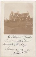 Ille Et Vilaine : LA RICHARDAIS : Propriété De Madame Barowska ( Carte Photo. - 7 Juin 1910 ) - Other Municipalities