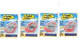 Série Grattage Fdj (fra Des Jeux N° 49701 Compléte) Tournée Des Plages Festival Des Jeux - Lottery Tickets