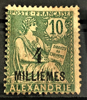 ALEXANDRIE 1921/23 - MLH - YT 61 - 4m/10c - Alexandrie (1899-1931)