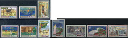 Belize 1991 And 1992, Christmas - Spine-Chillers, MNH Stamps Set - COMPLETE - Belize (1973-...)