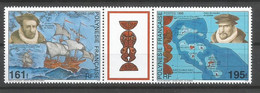 Triptyque  Polynésie Française En Neuf ** N 484 A - Neufs