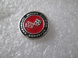PIN'S    LOGO   CHEVROLET   CORVETTE   Aluminium - Corvette