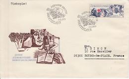 TCHECOSLOVAQUIE LETTRE FDC POUR LA FRANCE 1979 - Cartas
