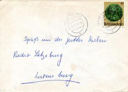 LUXEMBOURG. N°925 De 1980 Sur Enveloppe Ayant Circulé. Monnaie Médiévale. - Monnaies