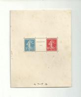 BF N° 2 EXPO PHILATELIQUE STRASBOURG 1927......à Voir - Mint/Hinged