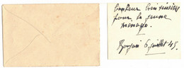 AVEC SON ENVELOPPE CARTE DE VISITE DE MR MME DONADILLE HUBERT CASTRES POUR ROUJAN HERAULT MR MME ROQUES - Visiting Cards