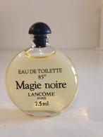 Miniature De PARFUM MAGIE NOIR De LANCOME  Sans Boite Bouchon Noir - Miniatures Femmes (sans Boite)