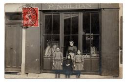 17  ROCHEFORT  -  Boulangerie P. Noilhan, 17 Rue Gambetta - Carte-Photo - Rochefort