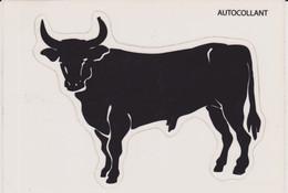 CPM Autocollant : Taureau Noir (à Détouré) - Stickers