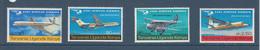 1967 Kenya Uganda Tanzania East Africa Airways Airplanes Avions  Complete Set Of  4 MNH - Kenya, Oeganda & Tanzania