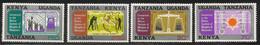 1971 Kenya Uganda Tanzania  Metric System Science Complete Set Of  4 MNH - Kenya, Oeganda & Tanzania