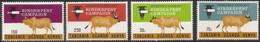 1971 Kenya Uganda Tanzania  Rinderpest Needle Cattle Health  Complete Set Of  4 MNH - Kenya, Uganda & Tanzania