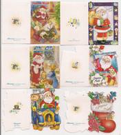 Lot De 10 Etiquettes Cadeau  Thème NOËL  à Voir..... - Weihnachten
