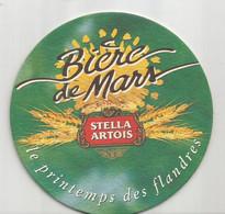 SOUS BOCK  STELLA ARTOIS - Bière De Mars - Le Printemps Des Flandres - Portavasos