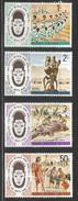 1975 Kenya Uganda Tanzania  African Arts Festival Culture Complete Set Of  4 MNH - Kenya, Uganda & Tanganyika