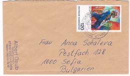 Germany – Bulgarien Brief 1996 - [7] Federal Republic