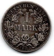 Allemagne -  1 Mark 1885 A  -  état TTB - 1 Mark