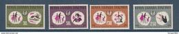 1968 Kenya Uganda Tanzania WHO Doctor Nurse Malaria  Complete Set Of  4 MNH - Kenya, Oeganda & Tanzania