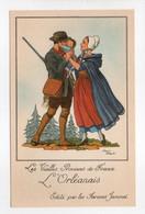 - CPA JEAN DROIT (illustrateurs) - Les Vieilles Provinces De France - L'Orléanais - Editions Farines Jammet - - Droit