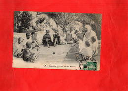G2409 - ALGERIE - Ecole Sous Les Palmiers - Children