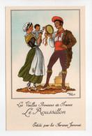 - CPA JEAN DROIT (illustrateurs) - Les Vieilles Provinces De France - Le Roussillon - Editions Farines Jammet - - Droit