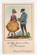 - CPA JEAN DROIT (illustrateurs) - Les Vieilles Provinces De France - L'Auvergne - Editions Farines Jammet - - Droit