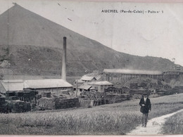 Carte Postale Ancienne  AUCHEL +PUITS N°1 - France